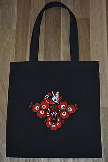 Nákupné tašky - folk taška - 10750178_
