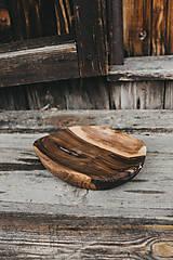 Nádoby - Dlabaná miska (rôzne dreviny) - 10749509_