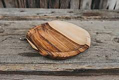 Nádoby - Dlabaná miska (rôzne dreviny) - 10749511_
