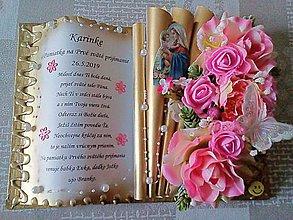 Knihy - Kniha na pamiatku k Prvému Svätému prijímaniu - 10749860_