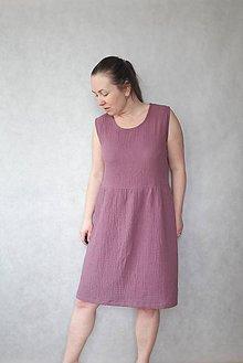 Šaty - Šaty z mušelínu , vel. M/L - 10750832_