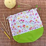 Iné tašky - Kvetovaná tvoritaška ~ projektová taška na vaše tvorenie - 10750633_