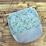 Iné tašky - Kytičková tvoritaška ~ projektová taška na vaše tvorenie - 10750693_