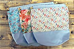 Iné tašky - Maľovaná tvoritaška ~ projektová taška na vaše tvorenie - 10750812_