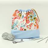 Iné tašky - Maľovaná tvoritaška ~ projektová taška na vaše tvorenie - 10750813_
