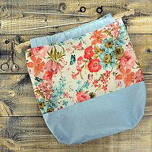 Iné tašky - Maľovaná tvoritaška ~ projektová taška na vaše tvorenie - 10750811_