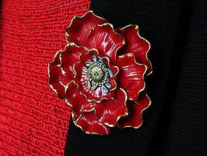 Odznaky/Brošne - Mak - 10749074_