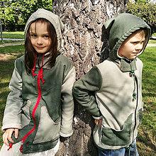 Kabáty - Detský kabátik pre dievčatko - 10749141_