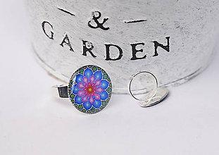 Prstene - prsteň s kvietkom - 10748920_