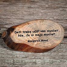 Magnetky - Magnetka - citát -  Deti treba učiť... - 10749448_