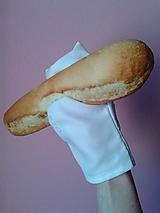 Úžitkový textil - Textilná rukavička na vyberanie pečiva ZERO WASTE - 10749513_