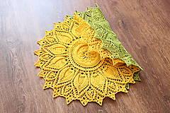 Úžitkový textil - Háčkovaná dečka Ulita - 10749410_