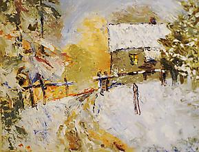 Obrazy - Olejomaľba