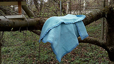 Textil - Deka háčkovaná - 10751245_