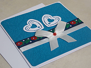 Papiernictvo - ...pohľadnica svadobná... - 10748752_