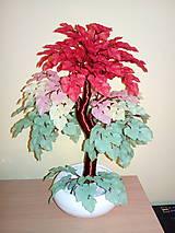 Dekorácie - Letný bonsaj - 10751555_