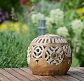 Svietidlá a sviečky - záhradný svietnik - 10748851_