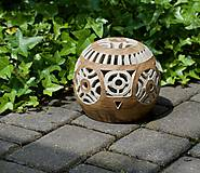 Svietidlá a sviečky - záhradný svietnik - 10748853_