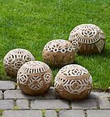 Svietidlá a sviečky - záhradný svietnik - 10748856_