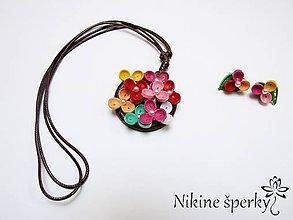 Sady šperkov - Jarné kvíti - 10749659_