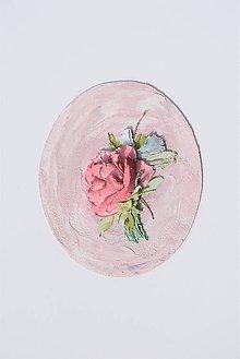 Obrazy - sculpture painting - ruža - 10751003_