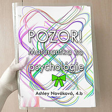 Papiernictvo - Pozor! Maturantka zo psychológie - zakladač (3) - 10749399_