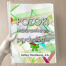 Papiernictvo - Pozor! Maturantka zo psychológie - zakladač (1) - 10749402_