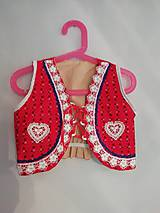 Detské oblečenie - Detský lajblik v. 122 - 10753804_