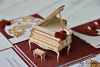 Papiernictvo - Krabička na peniaze La Scala - 10753756_