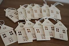 Dekorácie - Drevené domčeky - 10753414_
