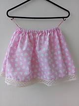 Detská suknička srdiečková
