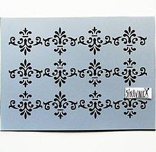 Pomôcky/Nástroje - Šablóna Stamperia - 15x20 cm - tapeta, tapetový vzor - 10752591_