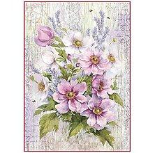 Papier - Ryžový papier na decoupage - A4 - Stamperia - DFSA4279 - 10752816_
