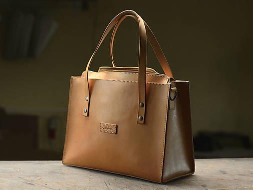 Kožená taška Klára