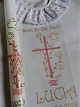 Detské doplnky - krstový set Tiffany - 10754173_
