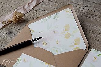 Papiernictvo - Svadobné oznámenia Divé ruže pre Klaudiu - 10752158_