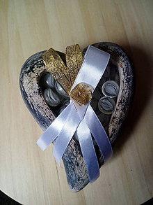 Pierka - svadobné pierko zlaté-pre rodičov - 10754441_