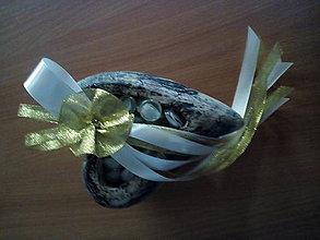 Pierka - svadobné pierko zlaté-pre starejšieho - 10754742_