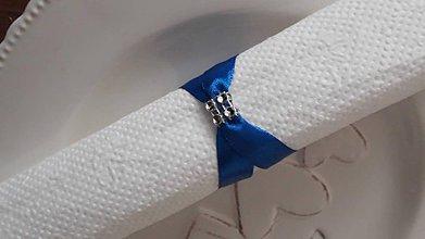 Dekorácie - Krúžky královská modrá - 10753967_