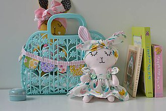 Hračky - zajka - 10754416_