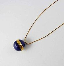 Náhrdelníky - Tana šperky - keramika/zlato - 10754727_