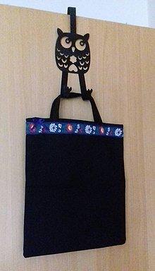 Nákupné tašky - čierna taška - 10751773_
