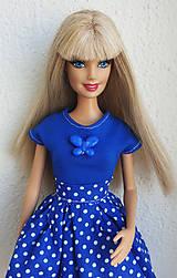 Hračky - Modré tričko s motýlikom - 10753238_