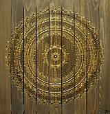 HARMÓNIA A RELAX (drevo-gold) 60 x 60