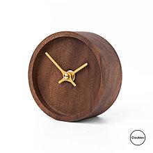 Hodiny - Drevené stolné hodiny Clockies CT105206 - 10754933_