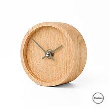 Hodiny - Drevené stolné hodiny Clockies CT105107 - 10754936_