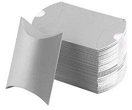 Obalový materiál - KB105 Krabička 9x7x2,5 cm (Strieborná) - 10753178_