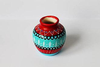 Dekorácie - Vázička (7x8) - 10754323_