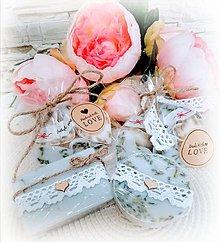 Darčeky pre svadobčanov - Svadobné mydlo - 10754775_