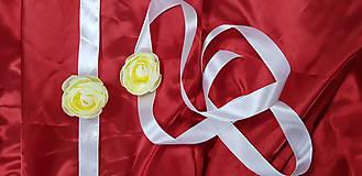 Náramky - Kvetinový náramok/ opasok na svadbu - 10752975_
